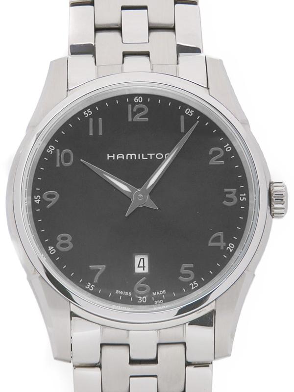 【HAMILTON】ハミルトン『ジャズマスター シンライン』H38511133 メンズ クォーツ 1週間保証【中古】b03w/h20AB
