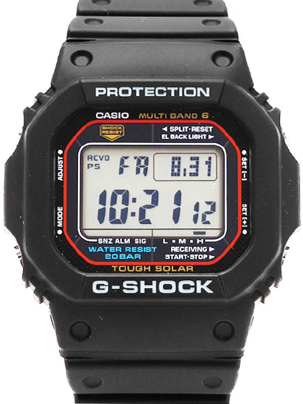 【CASIO】【G-SHOCK】【美品】カシオ『Gショック』GW-M5610-1JF ボーイズ ソーラー電波クォーツ 1週間保証【中古】b01w/h19SA