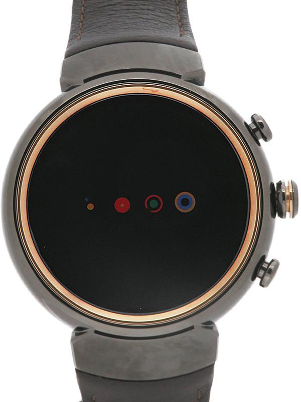 【ASUS】エイスース『Zen Watch3』WI503Q-LBR04 メンズ スマートウォッチ 1週間保証【中古】b03w/h14A