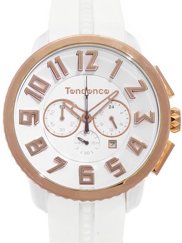 【Tendence】テンデンス『ガリバー47 クロノグラフ』TY460015 メンズ クォーツ 1週間保証【中古】b06w/h17A