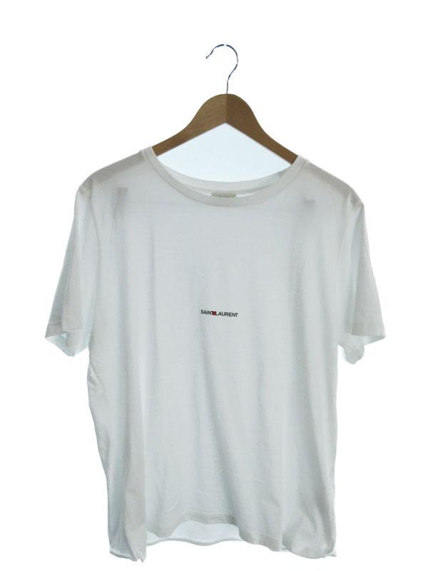 【SAINT LAURENT】【イタリア製】【トップス】サンローラン『コットン半袖Tシャツ sizeXL』46572YB2DQ9000 メンズ カットソー 1週間保証【中古】b06f/h16A, 愛筆屋:befd5002 --- adfun.jp