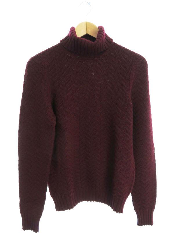 【Drumohr】【イタリア製】【トップス】ドルモア『タートルネック長袖ニット size44』メンズ セーター 1週間保証【中古】b03f/h12AB