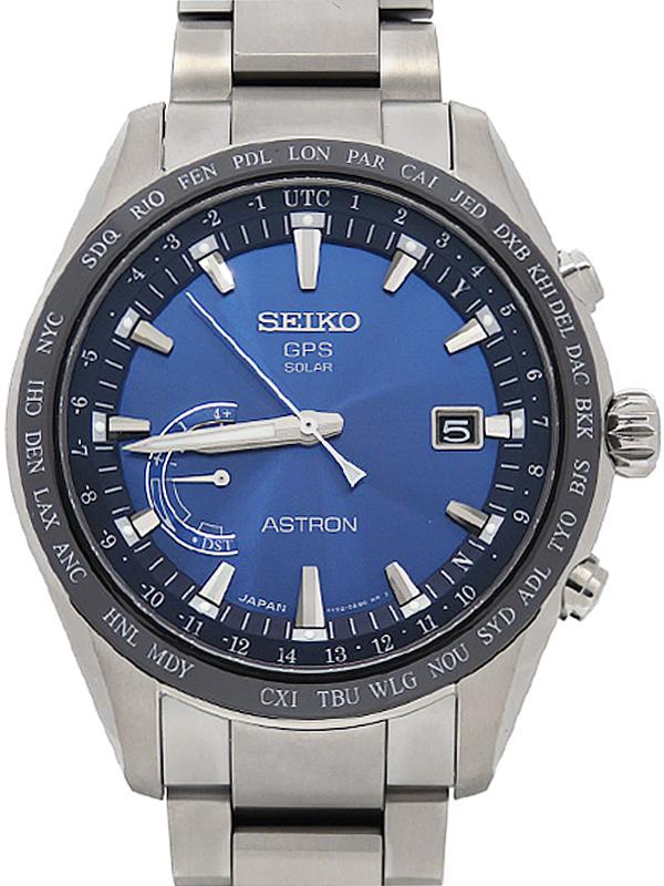 【SEIKO】セイコー『アストロン』SBXB109 8X22-0AG0 69****番 メンズ ソーラーGPS 1ヶ月保証【中古】b06w/h17A