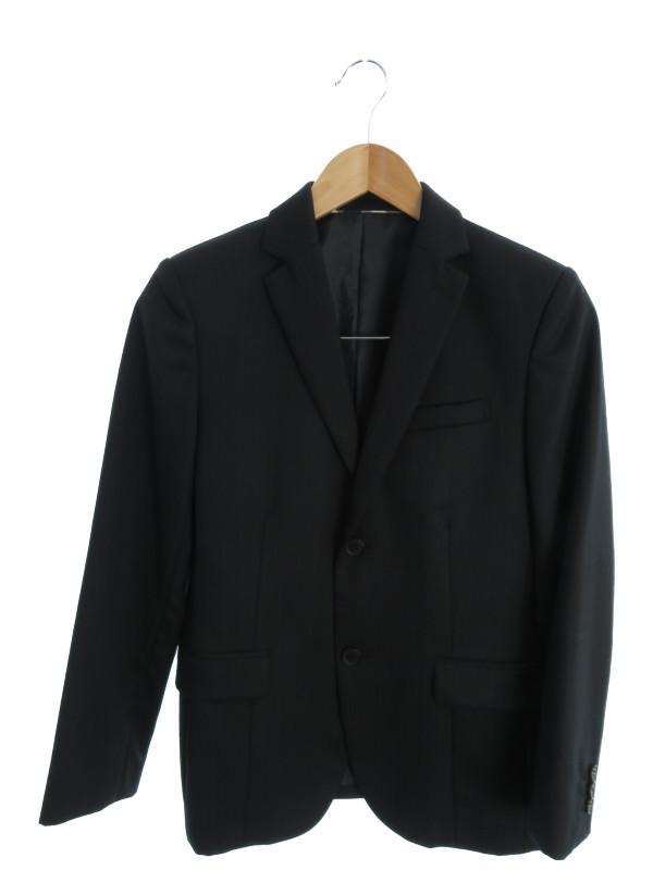 【BURBERRY LONDON】【キッズ】【2ピース】【日本製】バーバリーロンドン『ストライプ柄スーツ上下セット size150A』C2H01-101-09 メンズ 1週間保証【中古】b03f/h18AB