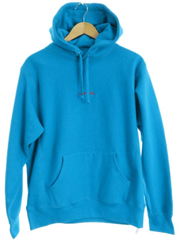 【Supreme】【18AW】【Trade mark Hooded Sweatshirt】【カナダ製】シュプリーム『スウェット裏起毛プルオーバーパーカー sizeMedium』メンズ 1週間保証【中古】b03f/h21A