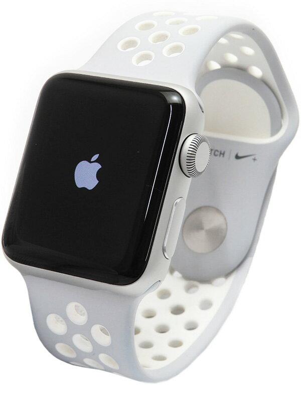 【Apple】【アップルウォッチ シリーズ2】アップル『Apple Watch Series2 Nike+ 38mm フラットシルバー』MNRY2J/A ボーイズ ウェアラブル端末 1週間保証【中古】b02w/h09AB