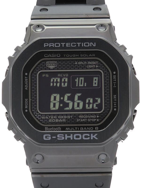 【CASIO】【G-SHOCK】【'18年購入】【スマートフォンリンク】カシオ『Gショック』GMW-B5000GD-1JF ボーイズ ソーラー電波クォーツ 1ヶ月保証【中古】b02w/h09A