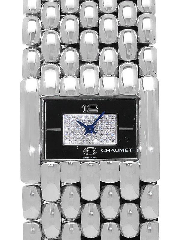 【CHAUMET】【電池交換済】ショーメ『ケイシスXL ダイヤ文字盤』ボーイズ クォーツ 3ヶ月保証【中古】b02w/h13A