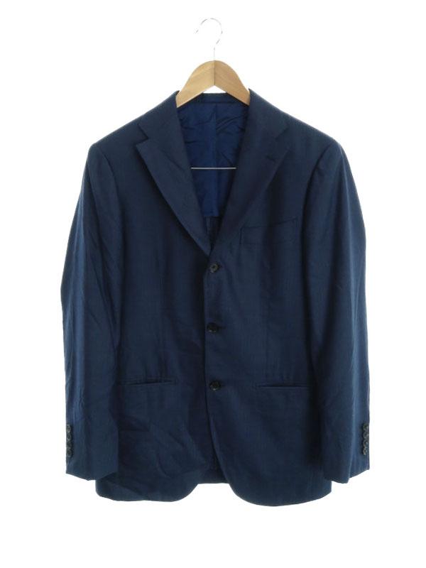 【Brilla per il gusto】【ビームス】【日本製】【上下セット】ブリッラペルイルグスト『ストライプ柄スーツ size46』メンズ セットアップ 1週間保証【中古】b06f/h16AB
