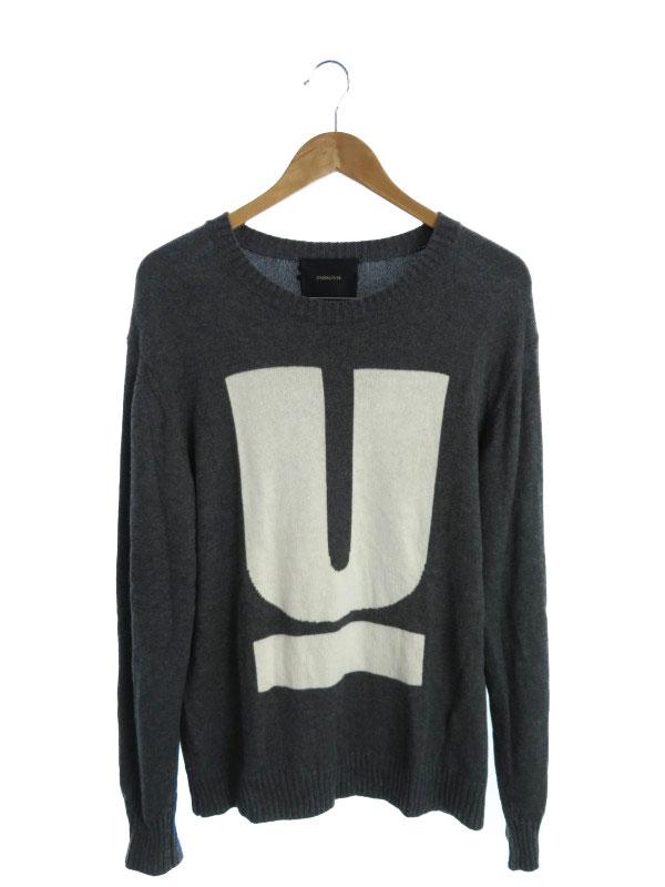 【UNDERCOVER】【トップス】アンダーカバー『長袖ニット size3』04901 メンズ セーター 1週間保証【中古】b02f/h16AB