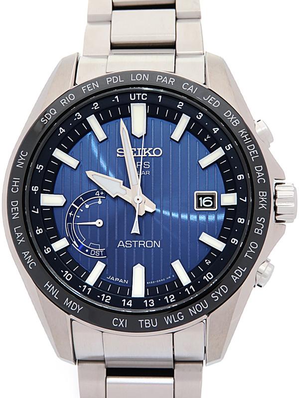 【SEIKO】セイコー『アストロン』SBXB159 8X22-0AL0 79****番 メンズ ソーラー電波GPS 3ヶ月保証【中古】b06w/h17A
