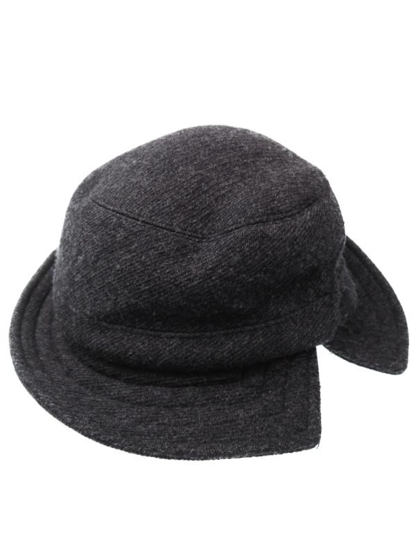 【LOUIS VUITTON】【フランス製】ルイヴィトン『ウール・カシミヤハット』レディース 帽子 1週間保証【中古】b02f/h07AB