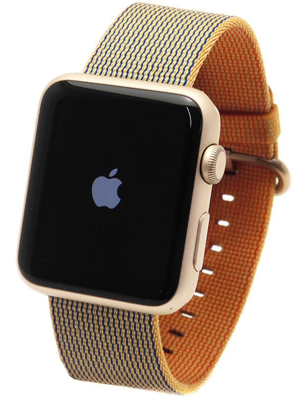 【Apple】【アップルウォッチ】アップル『Apple Watch Sport 42mm ロイヤルブルー ウーブンナイロン』MMFQ2J/A メンズ スマートウォッチ 1週間保証【中古】b03w/h12A
