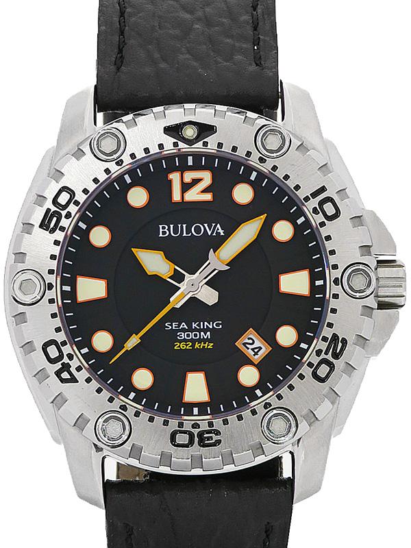 【BULOVA】ブローバ『シーキング』96B228 メンズ クォーツ 1週間保証【中古】b02w/h07A