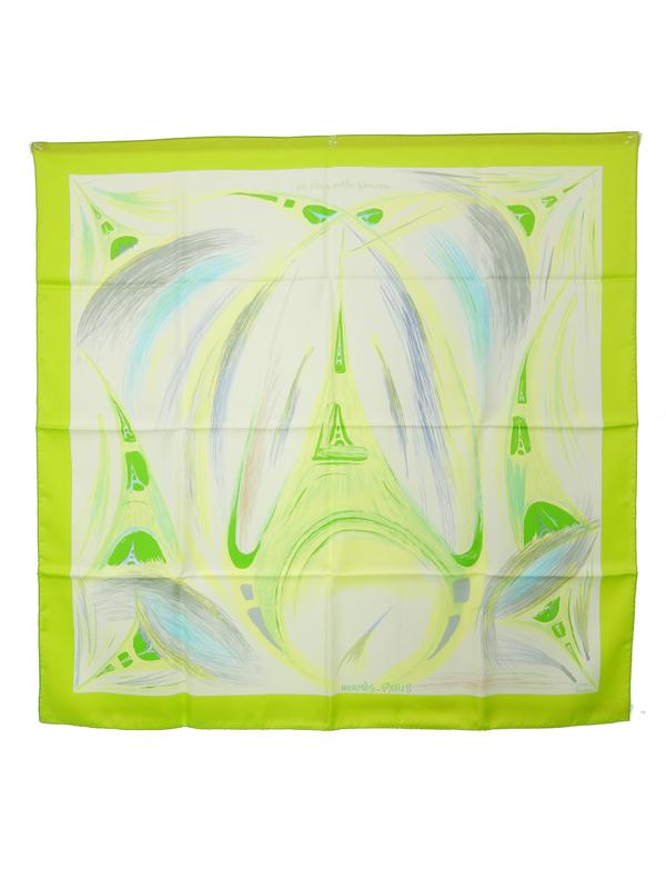 大洲市 【HERMES】【Le Tour Eiffel【HERMES】【Le S'envole】エルメス『カレ90 エッフェル塔』レディース スカーフ スカーフ Eiffel 1週間保証【中古】b03f/h06AB, フィッシングみちばた:7ad62d19 --- okanebanzai.xyz