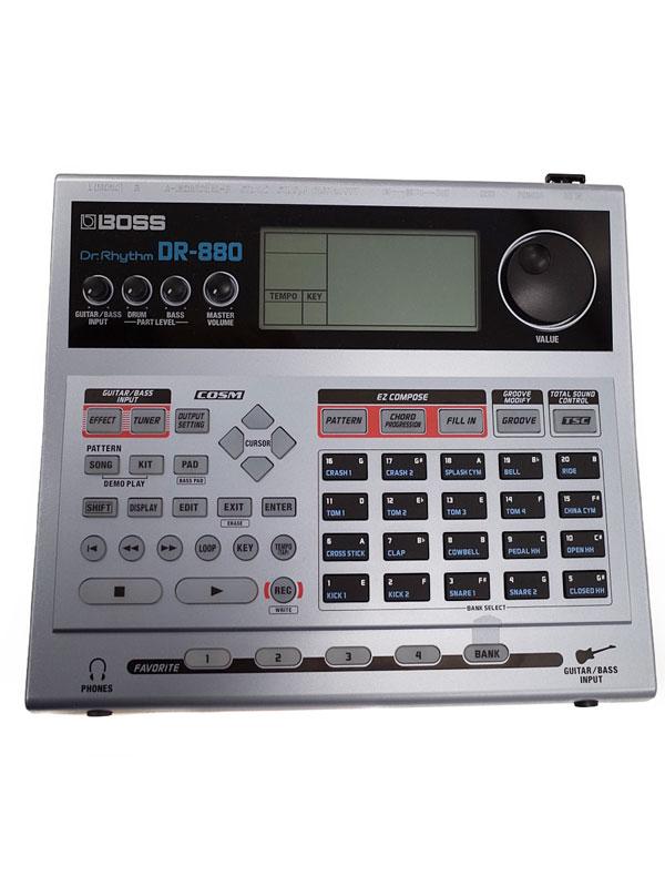 【BOSS】ボス『リズムマシン』Dr.Rhythm DR-880 Ver.2.0 1週間保証【中古】b03g/h19AB