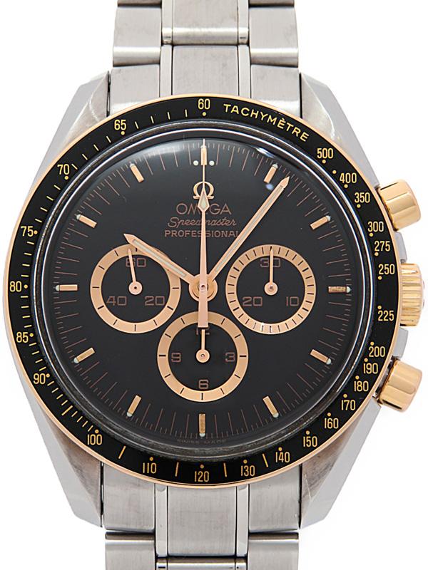 【OMEGA】【アポロ15号35周年記念】【限定1971本】オメガ『スピードマスター プロフェッショナル』3366.51 メンズ 手巻き 6ヶ月保証【中古】b03w/h22AB