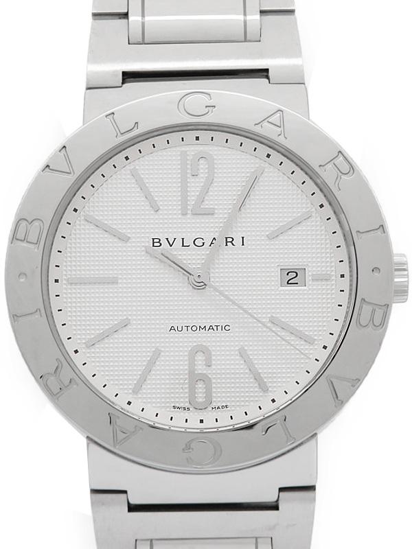【BVLGARI】【内部点検済】ブルガリ『ブルガリブルガリ』BB42SS メンズ 自動巻き 3ヶ月保証【中古】b01w/h02A