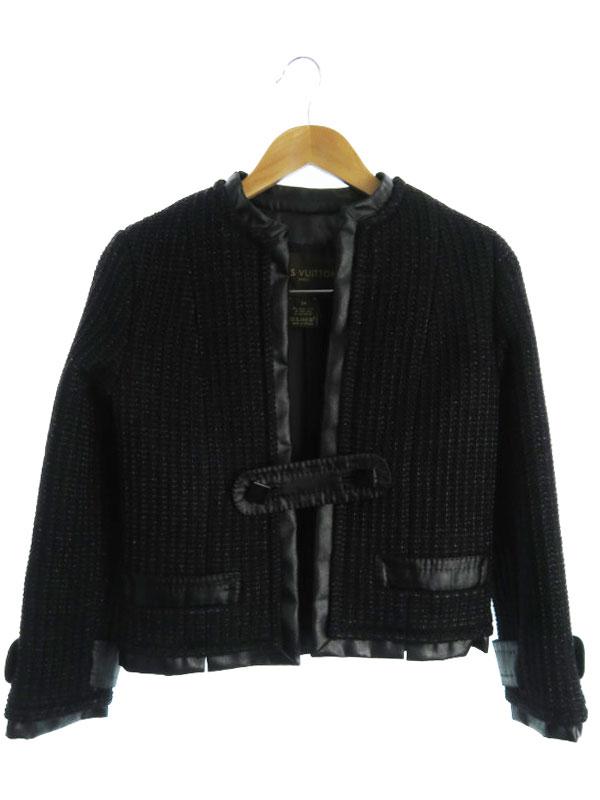 【Louis Vuitton】【フランス製】【2ピース】ルイヴィトン『ジャケット スカート 上下セット size34』レディース セットアップ 1週間保証【中古】b03f/h11AB