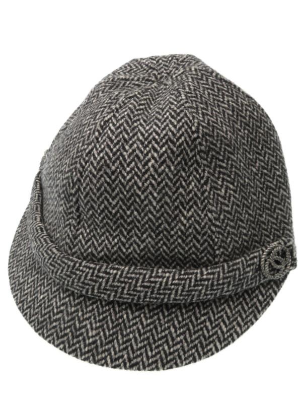 【CHANEL】【イタリア製】シャネル『帽子 size57』レディース 1週間保証【中古】b01f/h06B