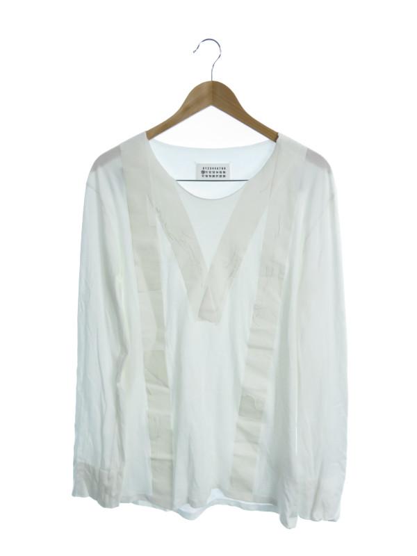 【MARTIN MARGIELA】【男性のためのコレクション】【イタリア製】【トップス】マルタンマルジェラ『長袖Tシャツ size50』30 GC177 メンズ カットソー【中古】b02f/h10AB