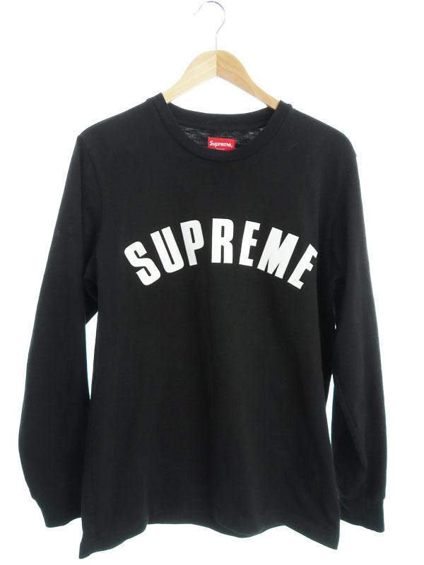 【Supreme】【Arc Logo L/S Top】【トップス】シュプリーム『長袖Tシャツ sizeM』2016SS メンズ カットソー 1週間保証【中古】b03f/h03AB