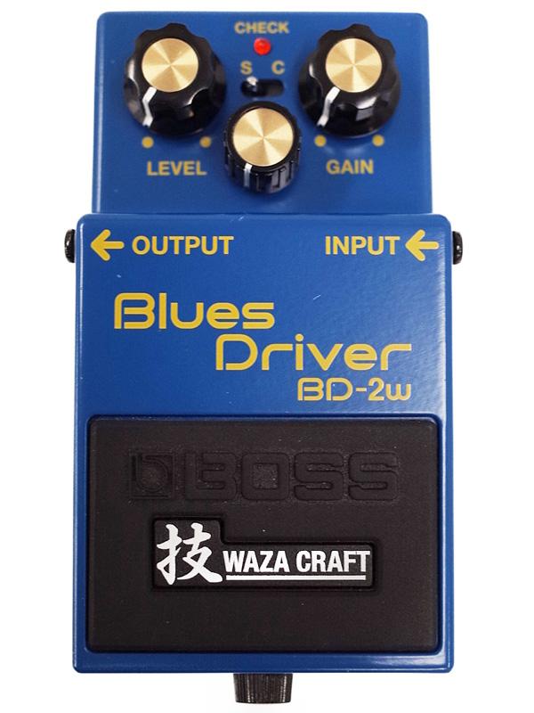 【BOSS】ボス『技 WAZA CRAFT ブルースドライバー』BD-2w コンパクトエフェクター 1週間保証【中古】b03g/h20A