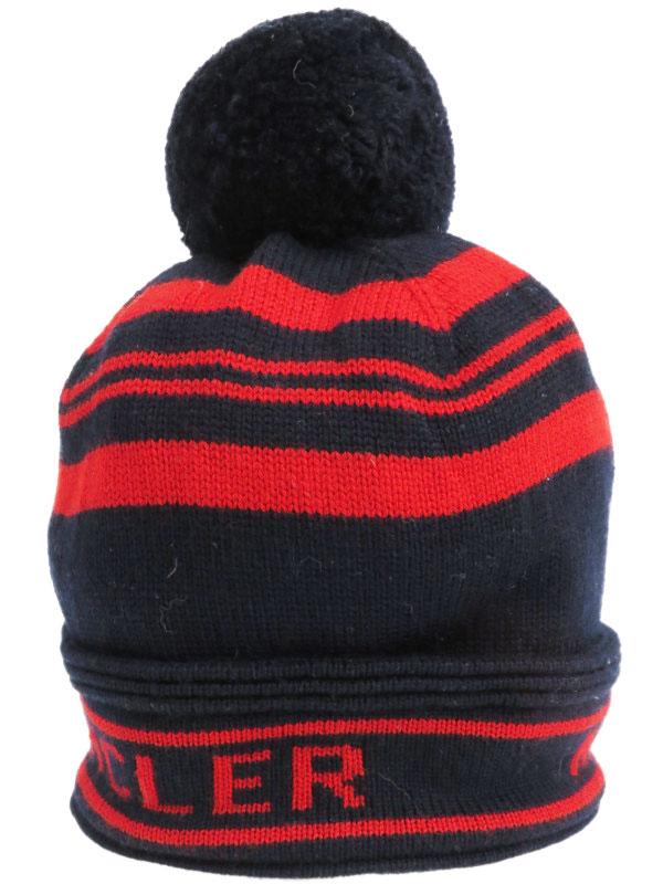 【MONCLER】【イタリア製】モンクレール『ニット帽』ユニセックス 帽子 1週間保証【中古】b01f/h15AB