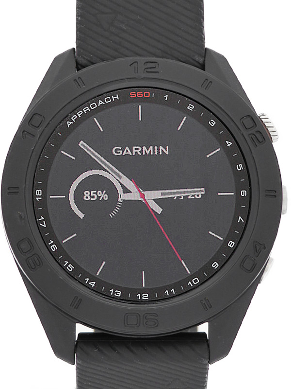 【GARMIN】【GPSゴルフウォッチ】【'18年購入】ガーミン『Approach S60』メンズ ゴルフウォッチ 1週間保証【中古】b02w/h07AB