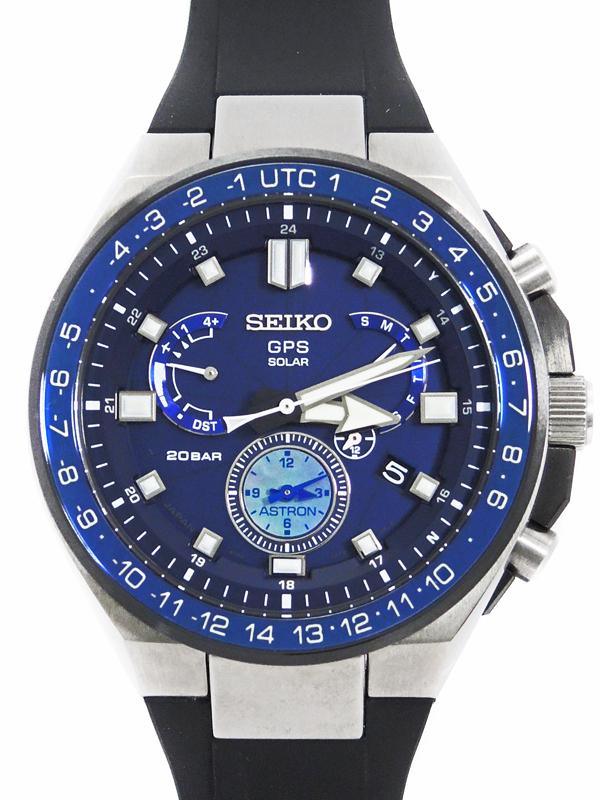 【SEIKO】【'18年購入】セイコー『アストロン』SBXB167 8X53-0BB0 83****番 メンズ ソーラー電波GPS 3ヶ月保証【中古】b03w/h16A