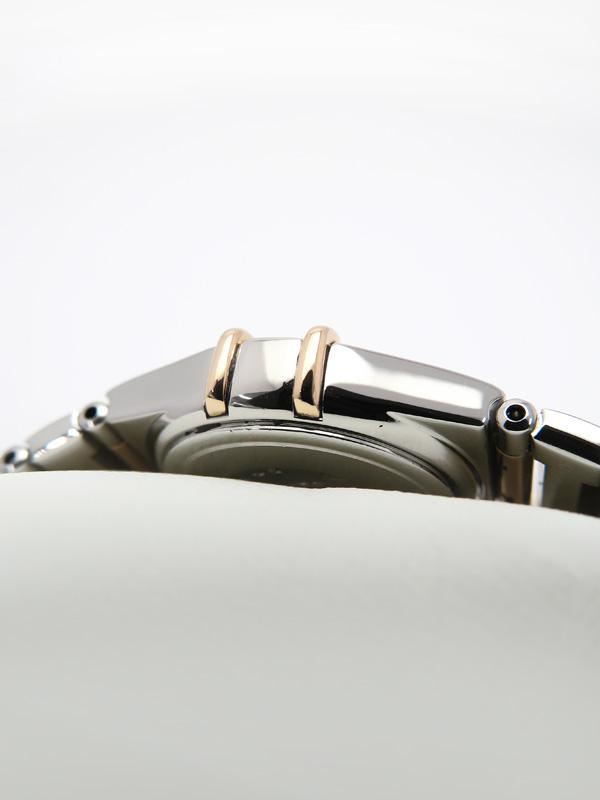 OMEGAOH・仕上・電池交換済 オメガ コンステレーション ミニ マイチョイス ベゼルダイヤ 1368 73 レディース クォーツ 3ヶ月保証b02w h03AWI9EDH2
