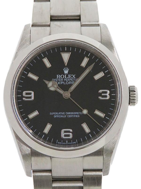 【ROLEX】【仕上済】ロレックス『エクスプローラー1』114270 V番'09年頃製 メンズ 自動巻き 12ヶ月保証【中古】b03w/h20A