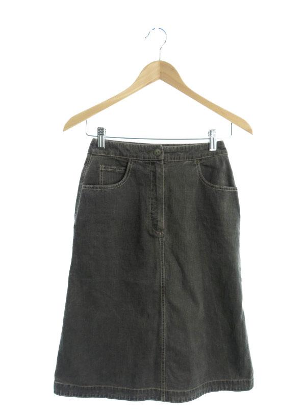 【CHANEL】【2003年春夏】【イタリア製】【ボトムス】シャネル『スカート size36』03P レディース 1週間保証【中古】b02f/h04B