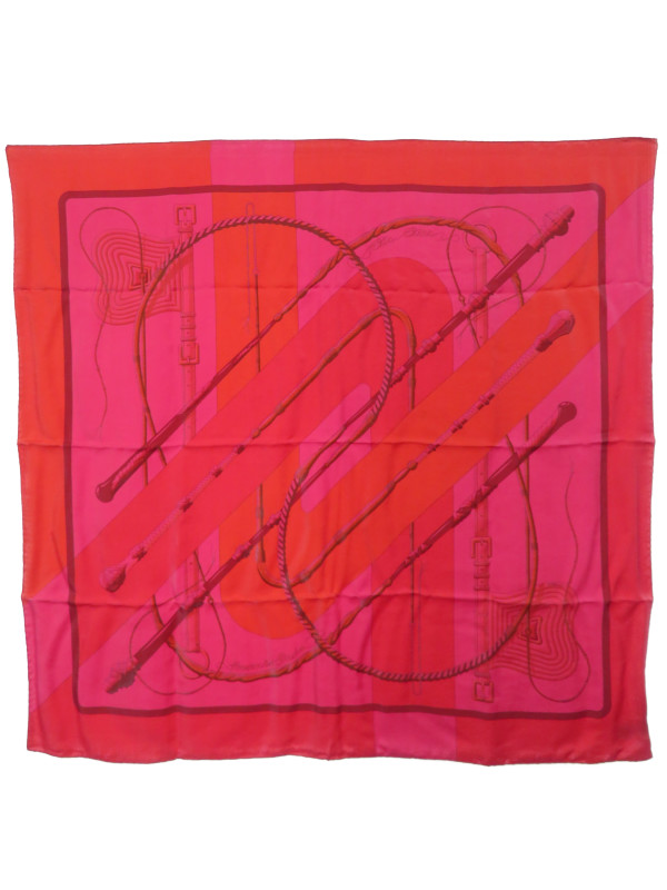 【HERMES】【Clic Clac】【DIP DYE】【SURTEINT】【フランス製】エルメス『カレ90』レディース スカーフ 1週間保証【中古】b01f/h04AB