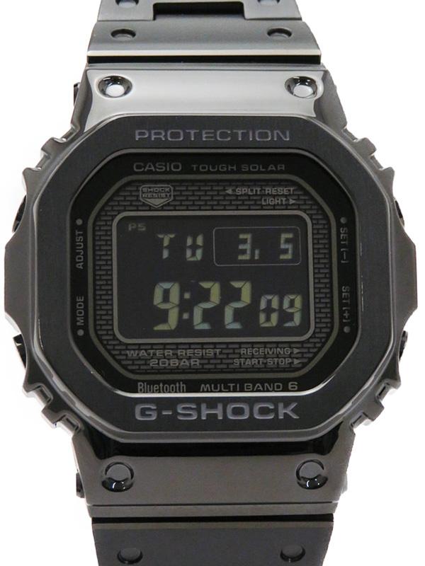 【CASIO】【G-SHOCK】【美品】【'19年購入】【海外モデル】カシオ『Gショック』GMW-B5000GD-1DR ボーイズ ソーラー電波クォーツ 1ヶ月保証【中古】b02w/h09SA