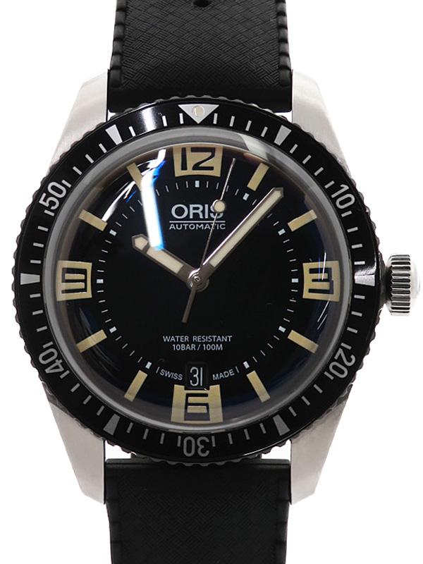 【ORIS】オリス『ダイバーズ 65』01 733 7707 4064-07 4 20 18 メンズ 自動巻き 1ヶ月保証【中古】b06w/h11AB