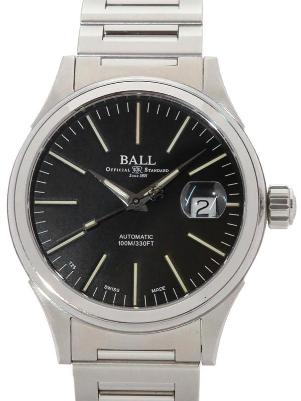 【BALL】【OH済】ボール『ストークマン エンタープライズ』NM2188C-S5J-BK メンズ 自動巻き 1週間保証【中古】b05w/h22A