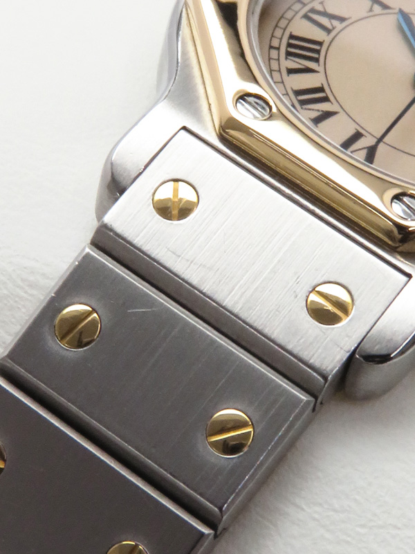 Cartier電池交換済 カルティエ サントスオクタゴン W2001683 レディース クォーツ 1ヶ月保証b03w h21AIY2WEH9D