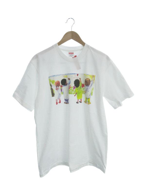 【Supreme】【Kids Tee】【アメリカ製】【トップス】シュプリーム『半袖Tシャツ sizeM』メンズ カットソー 1週間保証【中古】b02f/h22A