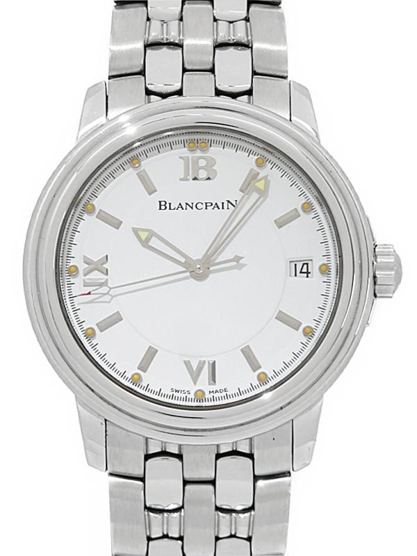 【BLANCPAIN】【OH・仕上済】ブランパン『レマン』2100-1127-11 メンズ 自動巻き 3ヶ月保証【中古】b02w/h03A