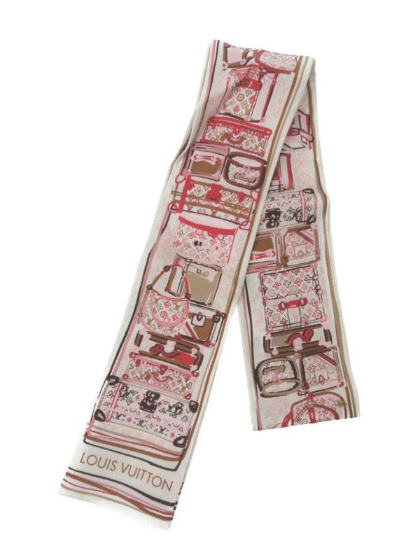 【Louis Vuitton】【イタリア製】ルイヴィトン『バンドー モノグラム・マル』レディース スカーフ 1週間保証【中古】b02f/h22AB