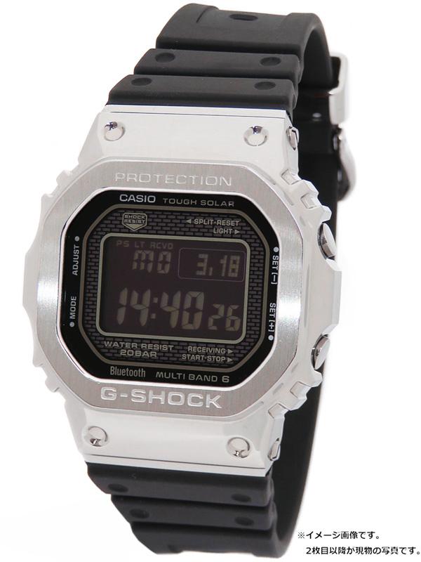 【CASIO】【G-SHOCK】【スマートフォンリンク】【35周年記念モデル】カシオ『Gショック』GMW-B5000-1JF ボーイズ ソーラー電波クォーツ 1週間保証【中古】b02w/h07A