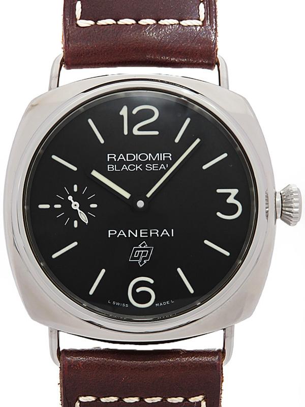 【PANERAI】【仕上済】パネライ『ラジオミール ブラックシール ロゴ』PAM00380 N番'11年製 メンズ 手巻き 6ヶ月保証【中古】b01w/h08A