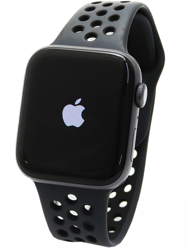 【Apple】【アップルウォッチ シリーズ4】アップル『Apple Watch Nike+ Series4 GPSモデル 44mm』MU6L2J/A メンズ スマートウォッチ 1週間保証【中古】b06w/h18A