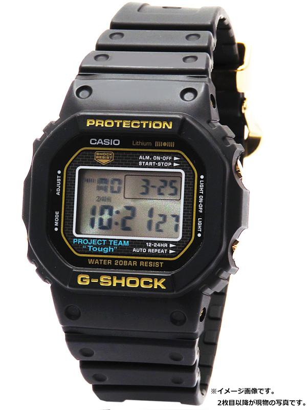 【CASIO】【G-SHOCK】【35周年記念モデル】カシオ『Gショック』DW-5035D-1B ボーイズ クォーツ 1週間保証【中古】b06w/h18A