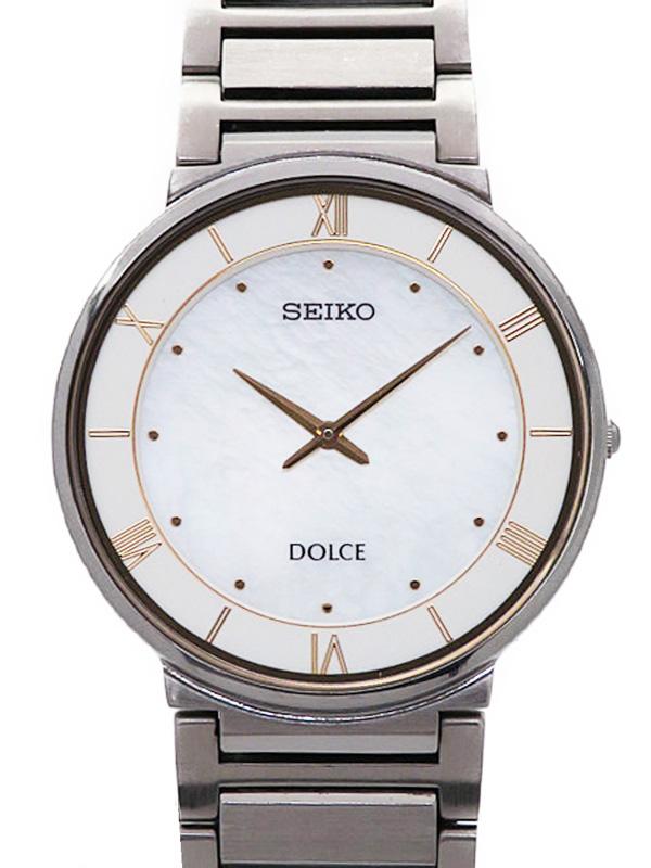 【SEIKO】【DOLCE】セイコー『ドルチェ』SACK017 4J40-0AD0 81****番 メンズ クォーツ 1週間保証【中古】b05w/h22A