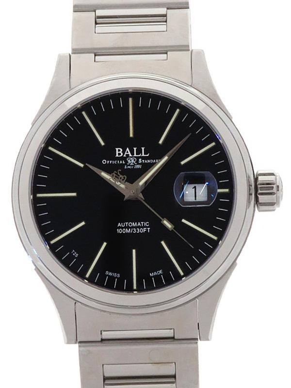 【BALL】ボール『ストークマン エンタープライズ』NM2188C-S5J-BK メンズ 自動巻き 1ヶ月保証【中古】b02w/h11A