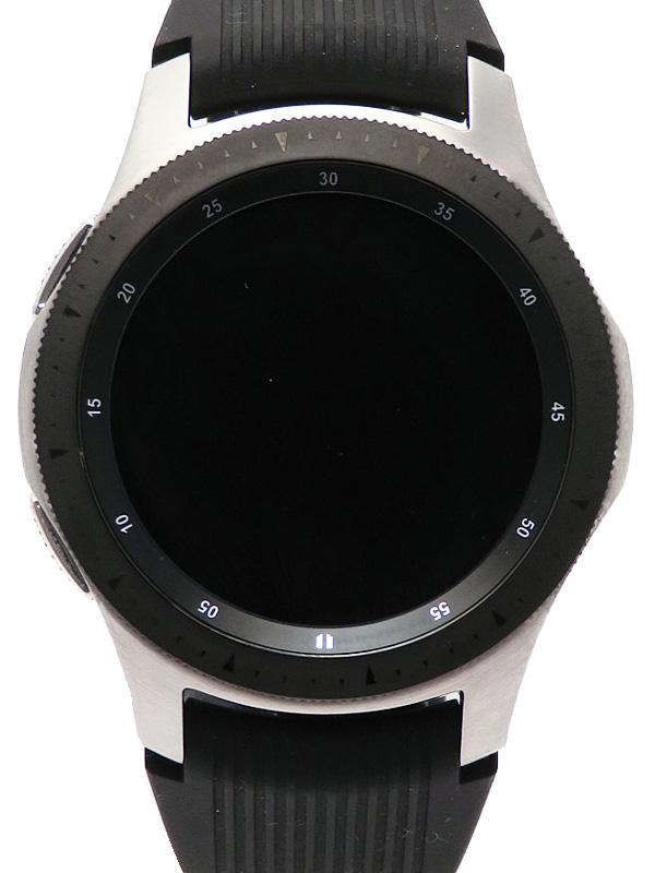 【SAMSUNG】サムスン『ギャラクシーウォッチ』SM-R800NZSAXJP メンズ スマートフォン 1週間保証【中古】b06w/h06A