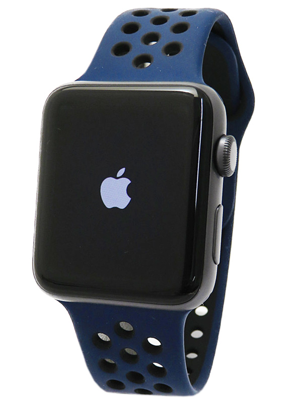 【Apple】【アップルウォッチ シリーズ3】アップル『Apple Watch Series 3 GPSモデル 42mm』MQL12J/A メンズ スマートウォッチ 1週間保証【中古】b05w/h22A