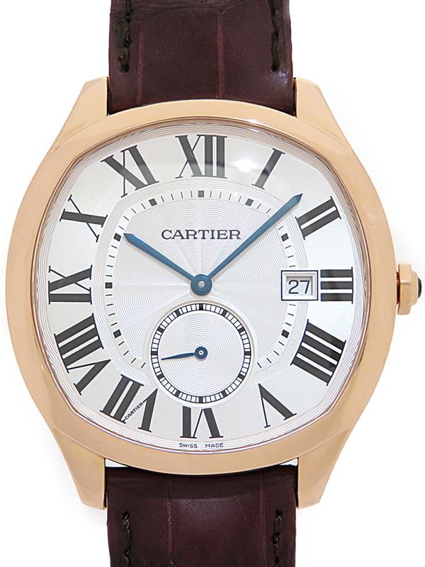 驚きの価格が実現! 【Cartier】【裏スケ】【PG】【仕上済】カルティエ『ドライブ ドゥ カルティエ』WGNM0003 メンズ 自動巻き 6ヶ月保証【】b01w/h08A, A1ストア ac5584f8